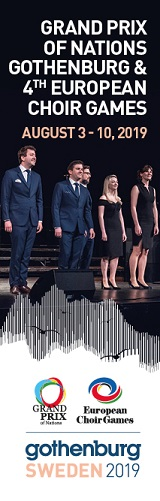 GRAND PRIX OF NATIONS GOTHENBURG & 4TH EUROPEAN CHOIR GAMES