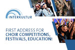 Interkultur - First address for choir competitions, festivals, education!