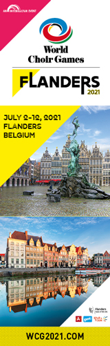 World Choir Games Flanders 2021