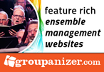 Groupanizer - feature rich ensemble managemenet websites